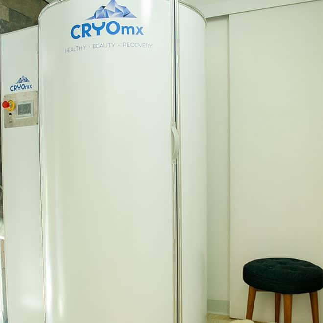 Crioterapia de cuerpo entero en CRYOmx