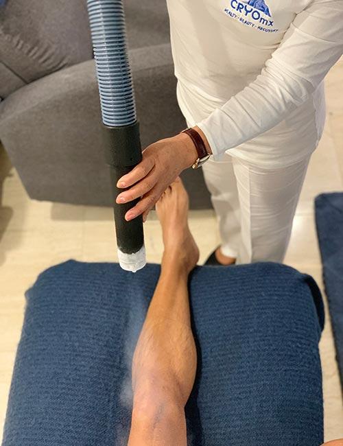 Crioterapia tratamiento lesiones deportivas