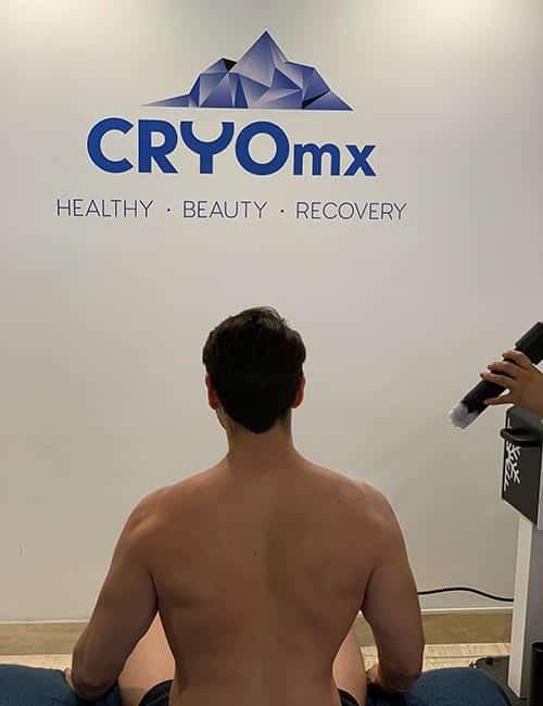 Recuperación lesiones deportivas CRYOmx