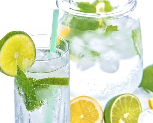 Aguas para bajar de peso