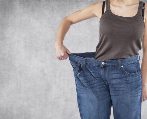 Riesgos de bajar de peso rápido