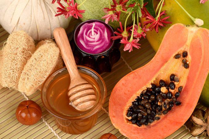 Mascarilla de papaya y miel